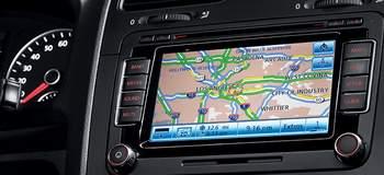 Штатная навигация автомобиля